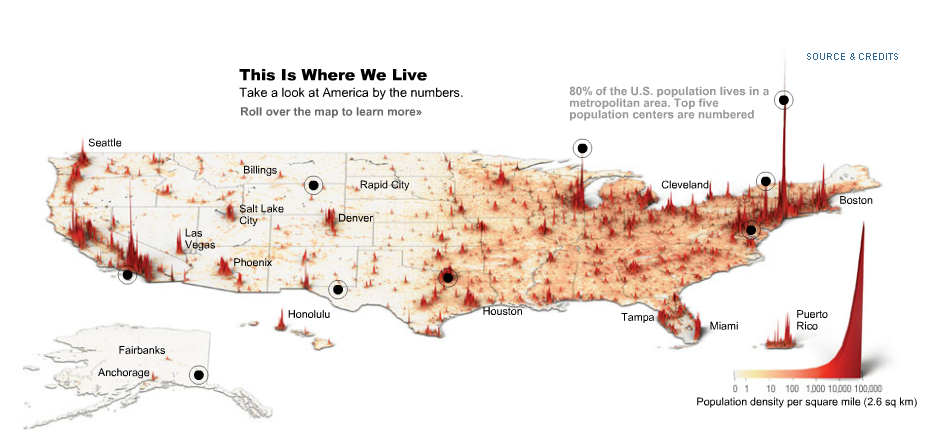 3d Map Of Us.Example Good And Bad Uses Of 3d Choropleth Maps Andrew Wheeler